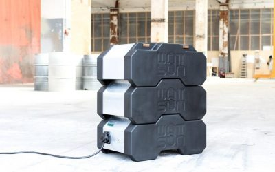 A mobile stand-alone solution on set: WATTSUN